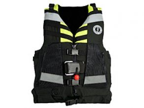 swift water rescue vest MUUSTANG SURVIVAL with panic hook